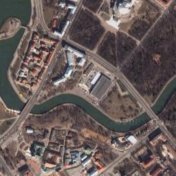 Минск из космоса минск со спутника
